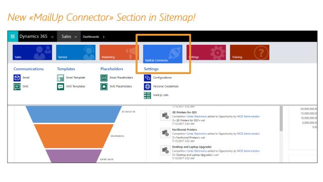 Microsoft Dynamics 365 - Integrations MailUp